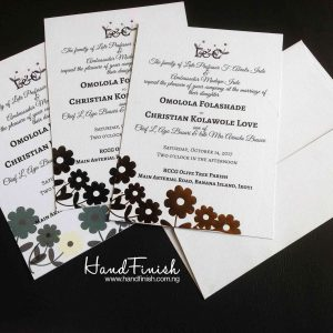 Nigerian Invitation Cards Archives Handfinish